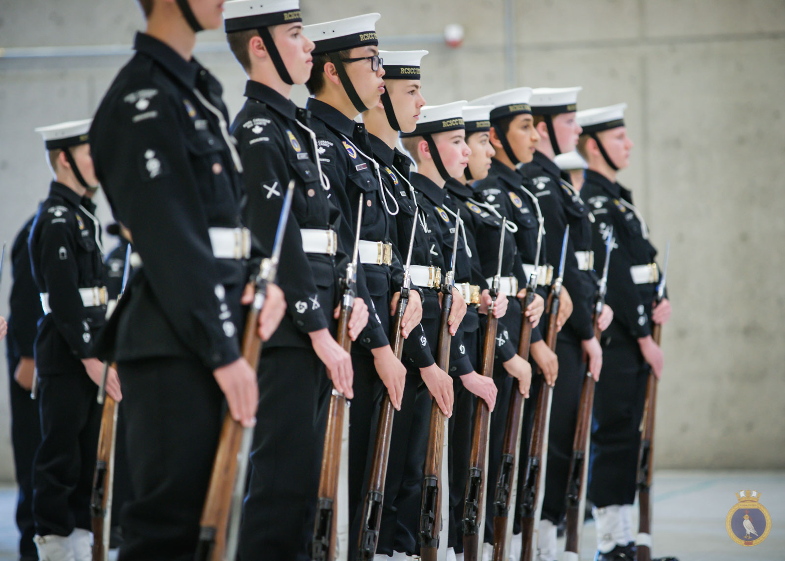 Pair of Royal Navy /& Sea Cadet Warrant Officer Class 2 Sleeve Ranking